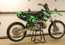 Bought a 2001 Kawasaki KX250
