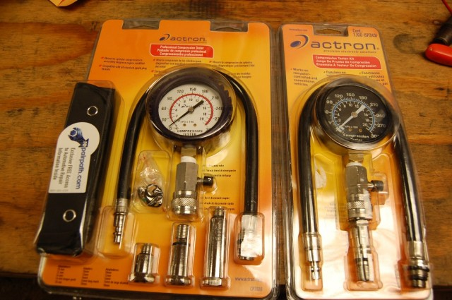 Motorcycle compression gauge tester Acton CP7828