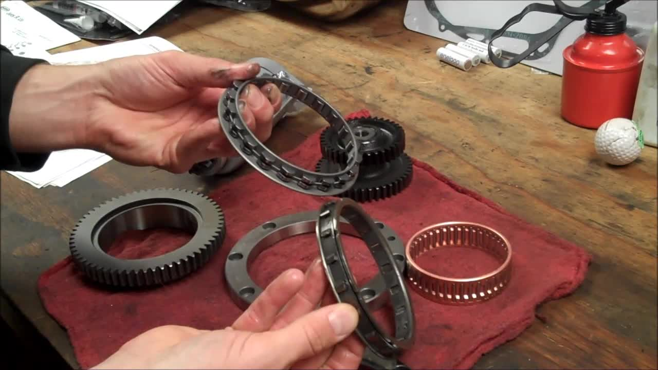 How To Motorcycle Repair How To V Star Starter Clutch