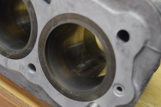 before honing cylinder