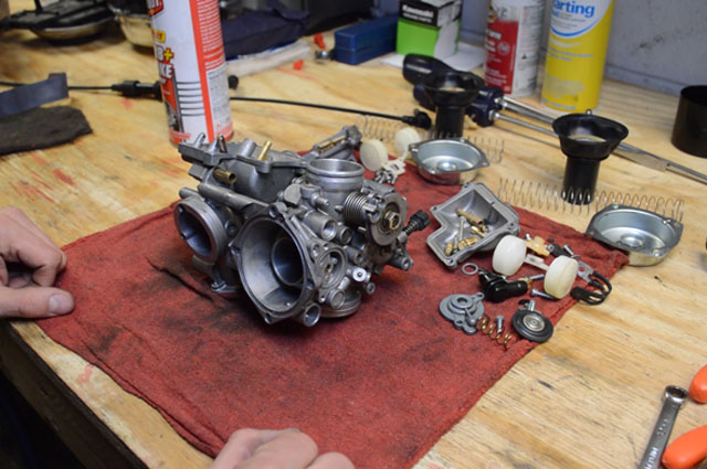 honda shadow vt750 vt1100 carburetor clean rebuild