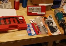 Tools Santa brought me –  Xmas 2014