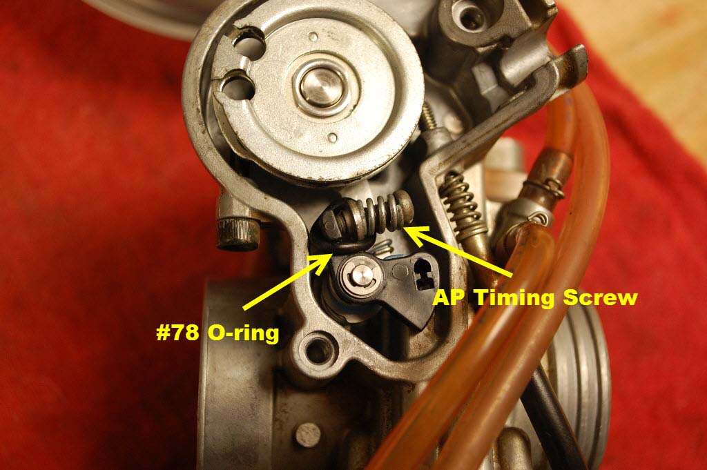 o ring mod ap timing screw