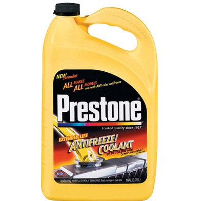 prestone extended life antifreeze coolant motorcycle
