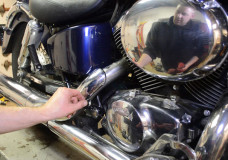 How-To: Honda Shadow VT750 Oil Change